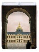 Les Invalides Paris Duvet Cover