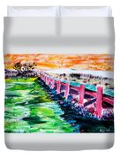 Les Orpellieres Duvet Cover
