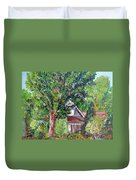 Lesher Homestead Boulder Co Duvet Cover
