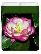 Leslie Ann - Sasanqua Camellia 006 Duvet Cover