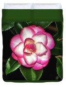 Leslie Ann - Sasanqua Camellia 007 Duvet Cover