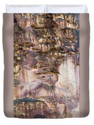 Leslie Gulch Cliff Vertical Duvet Cover