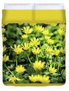 Lesser Celandine Duvet Cover