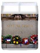 Lest We Forget War Memorial Martin Place Duvet Cover