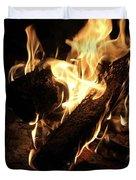 Let It Burn Duvet Cover