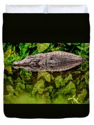 Let Sleeping Gators Lie Duvet Cover