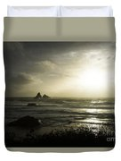 Let The Night Come Duvet Cover