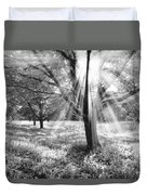 Let There Be Light Duvet Cover by Debra and Dave Vanderlaan
