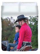 Let Your Babies Grow Up To Be Cowboys Duvet Cover