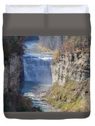 Letchworth Middle Falls Duvet Cover