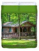Letchworth State Park Cabin Duvet Cover