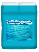 Let's Sail Away Duvet Cover