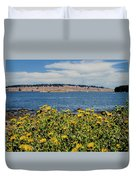 Let's Stop For Lunch Here Duvet Cover