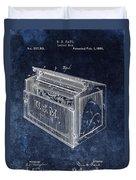 Letter Box Patent Duvet Cover