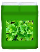Lettuces Duvet Cover