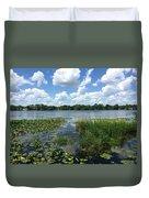 Leu Gardens Waterscape Duvet Cover