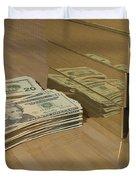 Level One Money Manifestation  Duvet Cover