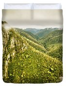 Leven Canyon Reserve Tasmania Duvet Cover