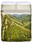 Leven Canyon Reserve Tasmania Duvet Cover
