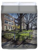 Lew Wallace High School April 2015 017 Duvet Cover