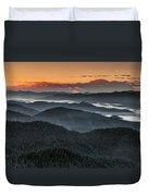 Lewis And Clark Route Duvet Cover
