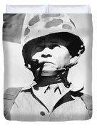 Lewis Chesty Puller Duvet Cover