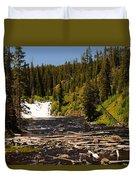 Lewis Falls Duvet Cover