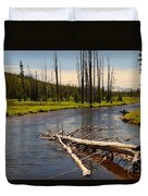 Lewis River Duvet Cover