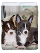 Lexi And Gracie Duvet Cover