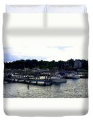 Lexington Harbor Duvet Cover