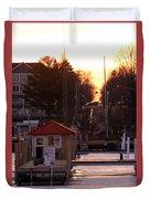 Lexington Harbor Duvet Cover by Kathy DesJardins