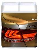 Lexus Ls 460 F Sport Tail Light Duvet Cover