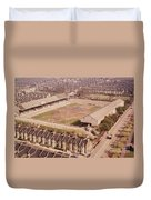 Leyton Orient - Brisbane Road - Aerial View 1 - Looking South East Duvet Cover