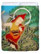 Lhalung Pelgi Dorje Duvet Cover