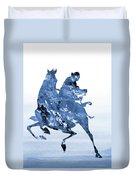 Li Shang-blue Duvet Cover