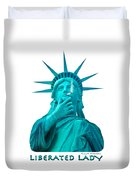 Liberated Lady 3 Duvet Cover