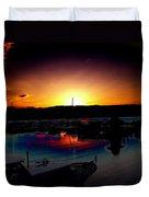 Liberty Bay Sunset Duvet Cover