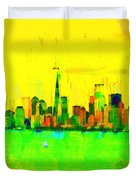 Liberty In New York - Pa Duvet Cover