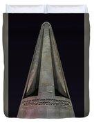 Liberty Memorial At Night Duvet Cover