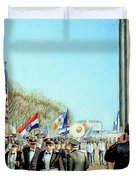 Liberty Memorial Kc Veterans Day 2001 Duvet Cover