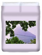 Liberty Tower Framed By Trees Duvet Cover