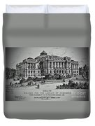 Library Of Congress Proposal 2 Duvet Cover