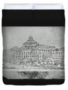 Library Of Congress Proposal 3 Duvet Cover