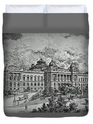 Library Of Congress Proposal 5 Duvet Cover
