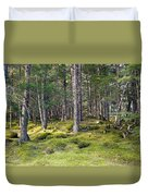 Lichen Covered Mountain Floor Duvet Cover