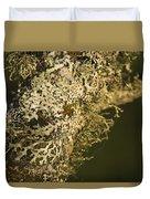 Lichens In Oregon Duvet Cover