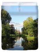 Lichfield Cathedral Reflectons Duvet Cover