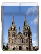 Lichfield Cathedral Duvet Cover