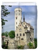 Lichtenstein Castle Duvet Cover