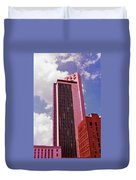 Life And Casulty Tower - Nashville, Tennessee Duvet Cover
